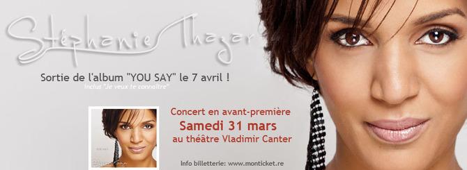 Stéphanie Thazar en concert le 31 mars 2011 !