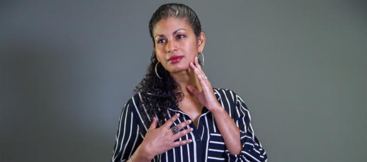 Laetitia Amourgom, l'ex banquière devenue coach emotionnel