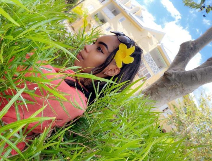 Gwenaëlle, la gagnante Elite Model Look Reunion Island 2019 de retour dans son île