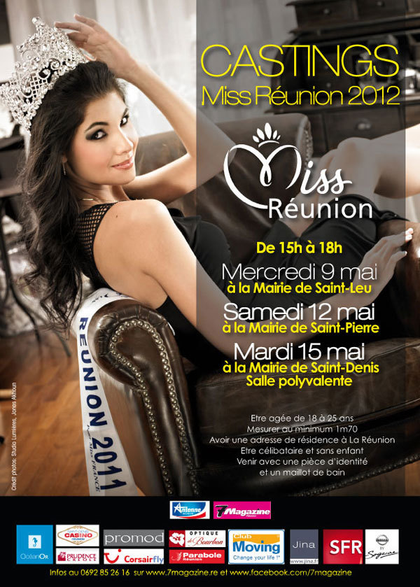 Castings Miss Réunion 2012