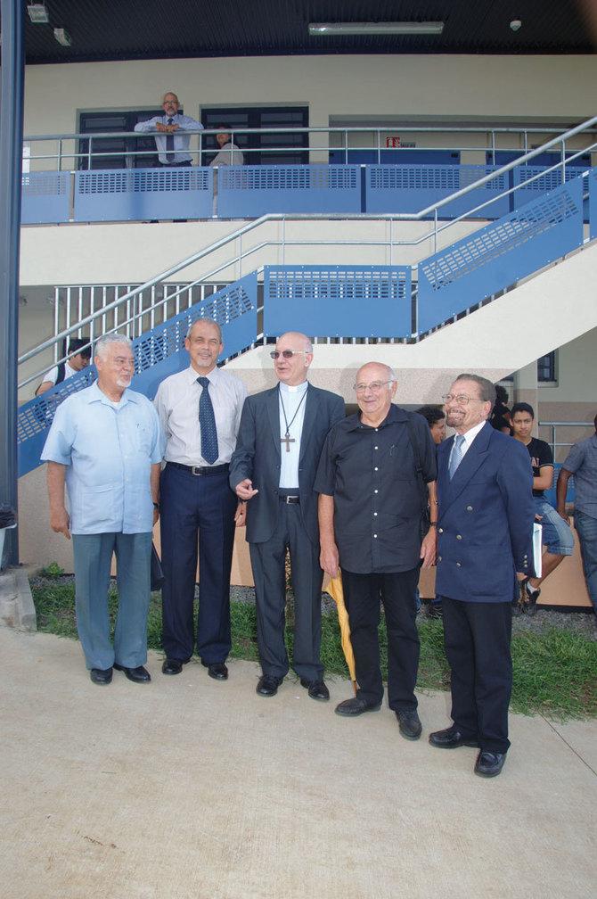 Inauguration Du lycée Maison Blanche