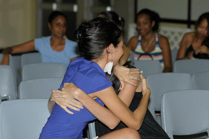 Troisième casting Miss Réunion 2012 à Saint-Denis