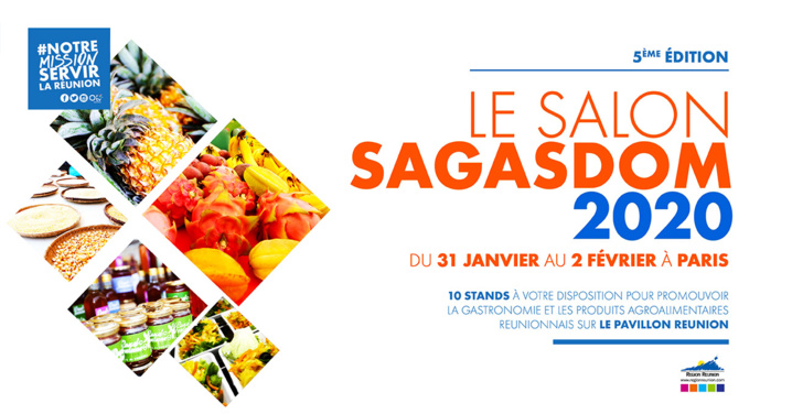 Pavillon Réunion pour le 5e Salon de la Gastronomie des Outre Mer SAGASDOM