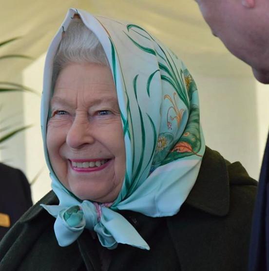 Photo : Capture Instagram officiel Buckingham Palace