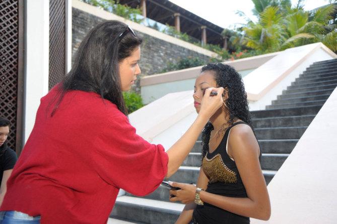 Vidéo Backstage Miss Réunion
