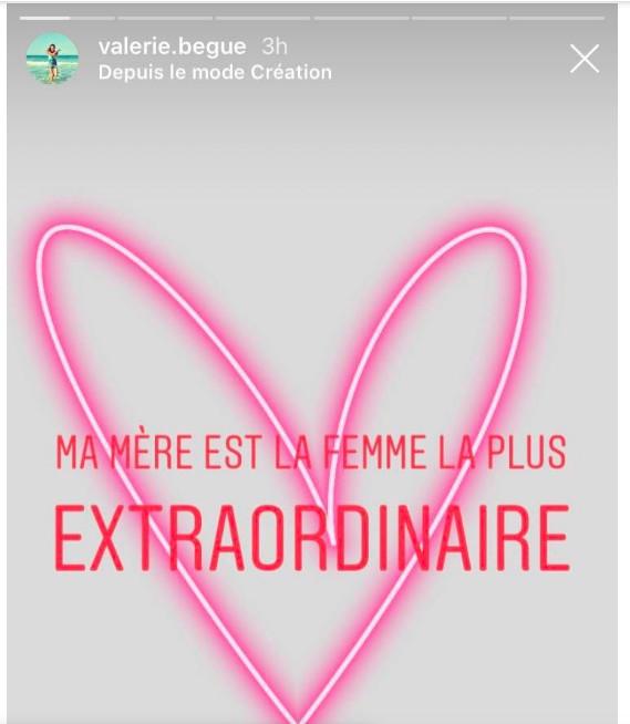 Captures Instagram Valérie Bègue