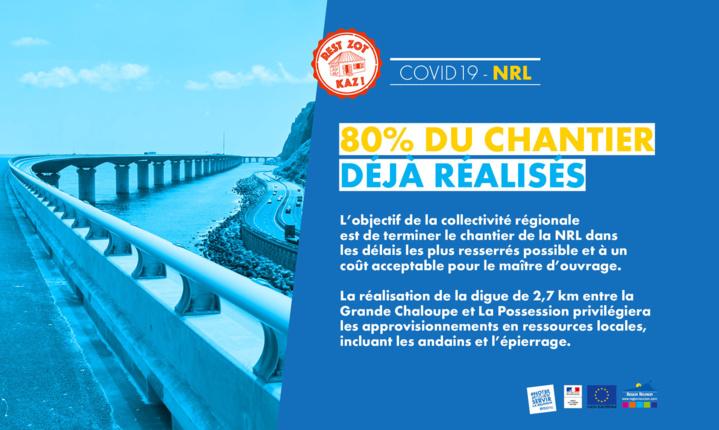 NRL : Redémarrage progressif des chantiers