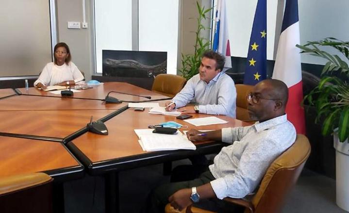 Rencontre avec les chambres consulaires et représentants du Comité Économique de La Réunion