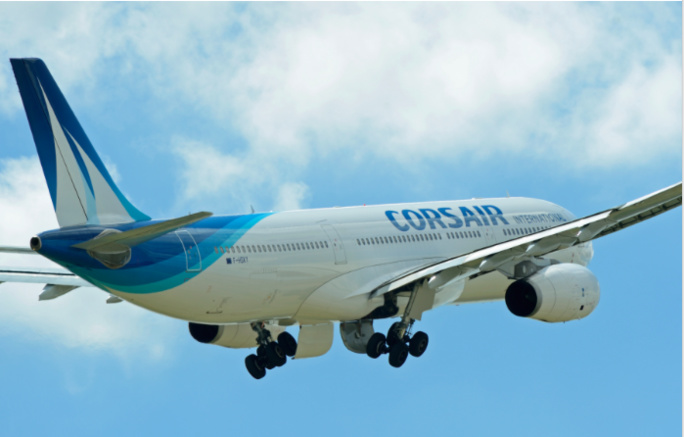 Corsair reprend ses vols à partir du 18 juin