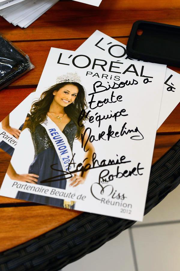Miss Réunion signe!