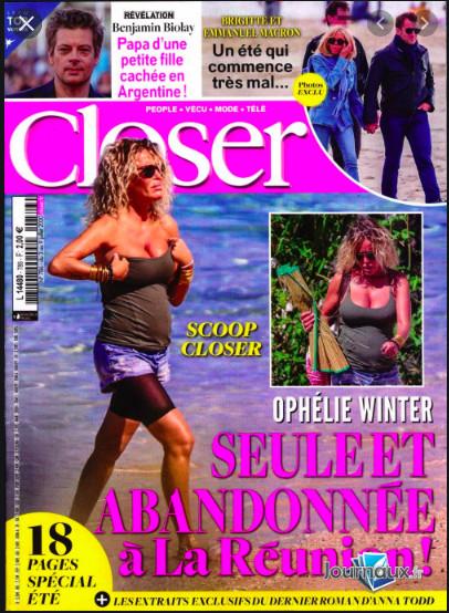 Ophélie Winter très heureuse à La Réunion : elle n'était pas seule et abandonnée !