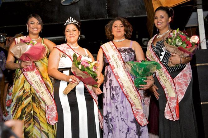 Miss Ronde Réunion 2012, Vanessa Sadousty élue