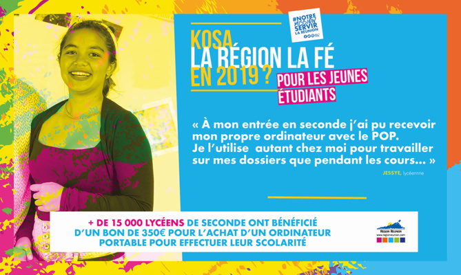 Kosa la Région La Fé en 2019?
