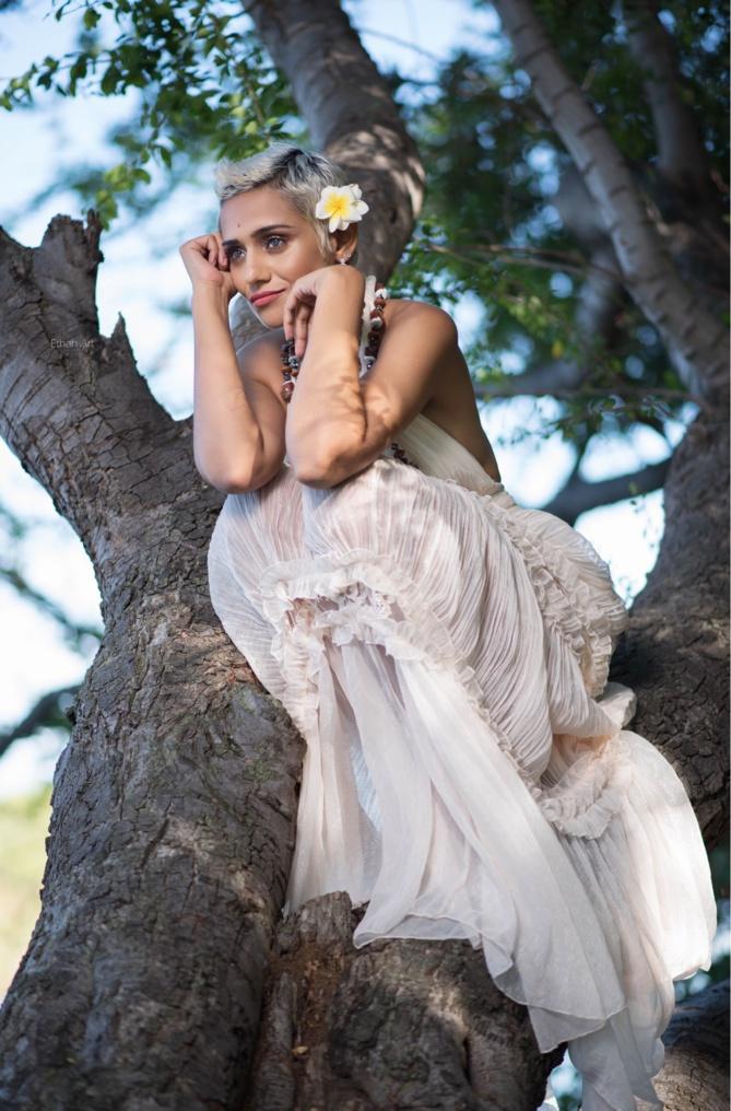 Asma Ayroles, nostalgique de notre île
