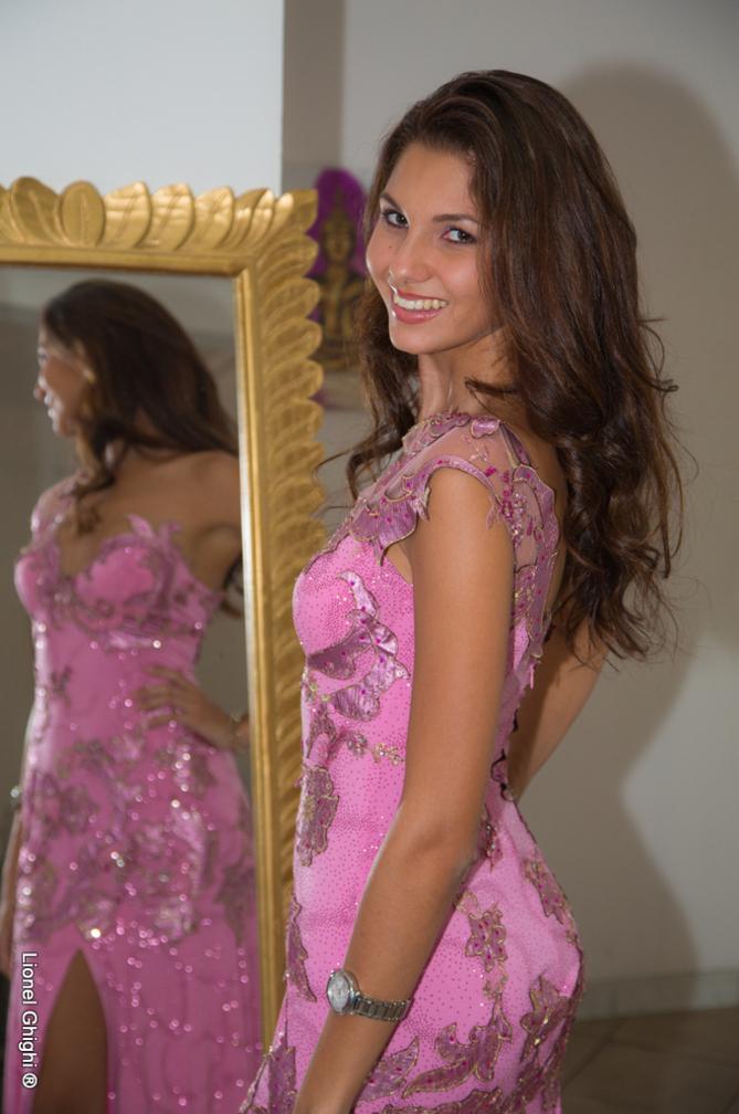 Marie Payet se prépare... pour Miss Univers