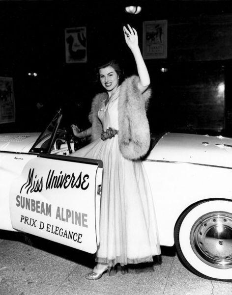 Christiane Martel, seule Française  à avoir remporté le concours de Miss Univers en 1953