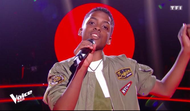 Photo capture TF1 The Voice Kids