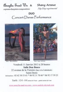 Concert le 11 janvier : Ameylia Saad Wu et Shany Arzeux