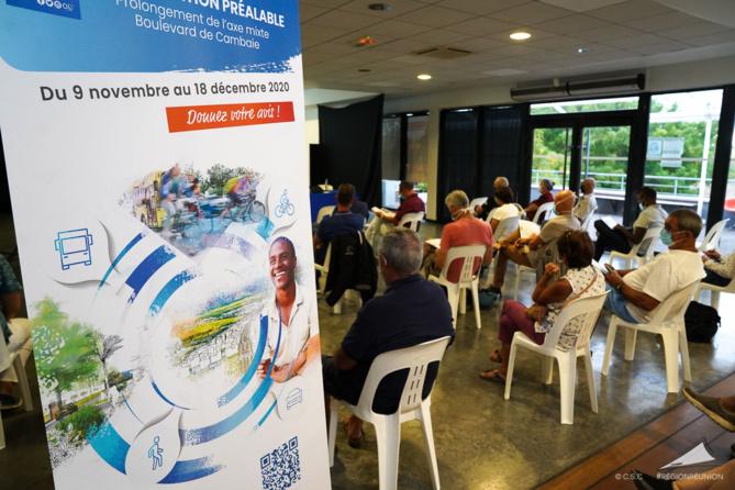 Réunion publique : concertation préalable du projet de prolongement de l'axe mixte à Saint-Paul