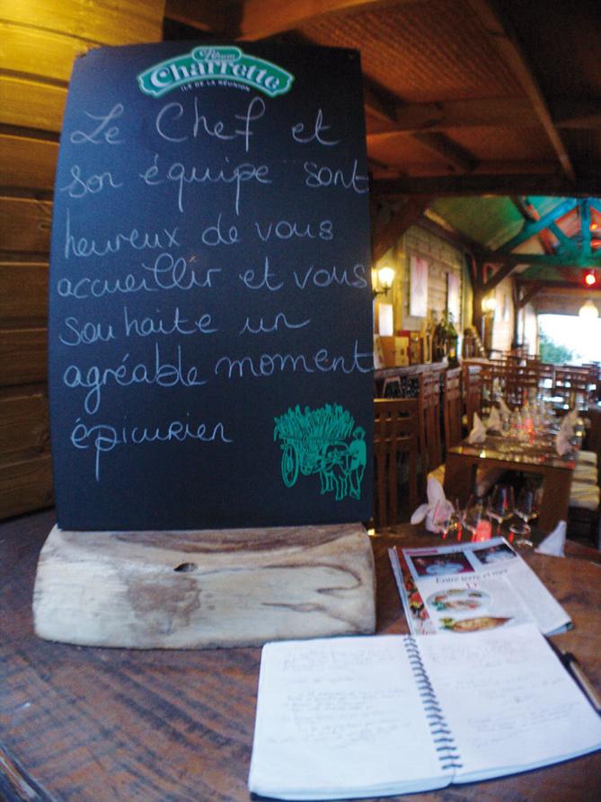 Restaurant Le Goélo, Le paradis comme à la maison