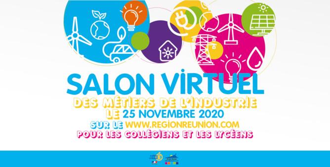 Le 1er salon virtuel des métiers de l'industrie pour les collégiens et les lycéens