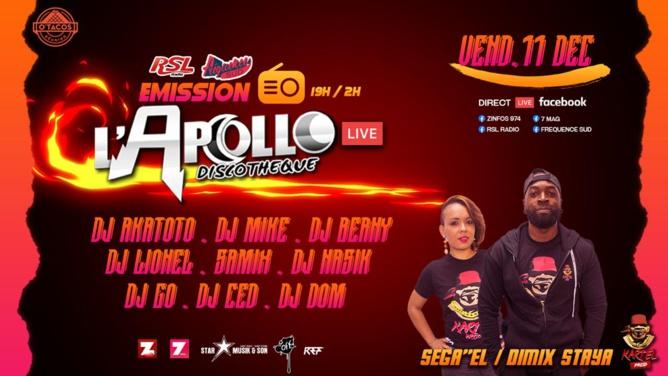 Concert Live: L'Apollo Night reprend vie !