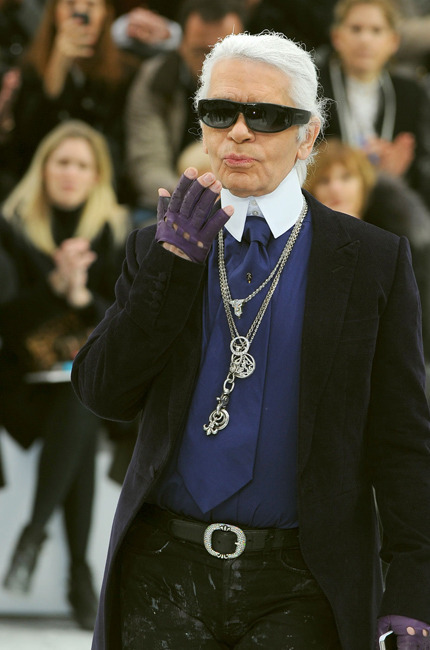 Pauline Hoarau, hier soir sur le défilé Chanel