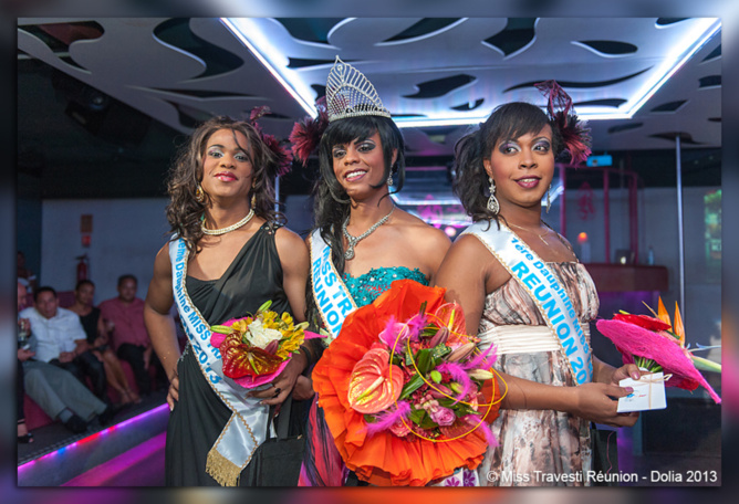 Miss Travesti 2013, Leslie couronnée