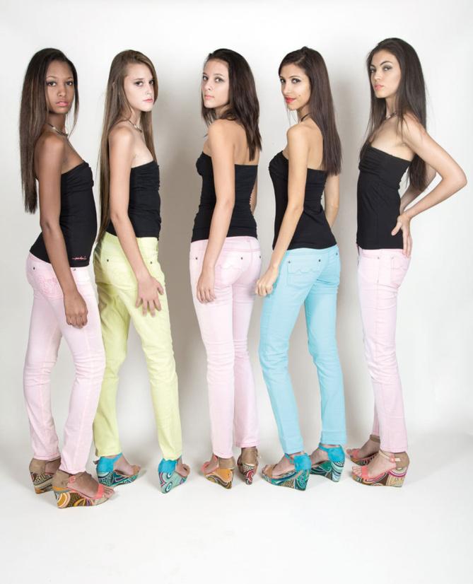 Elite Model Look Réunion 2013, Les 10 finalistes