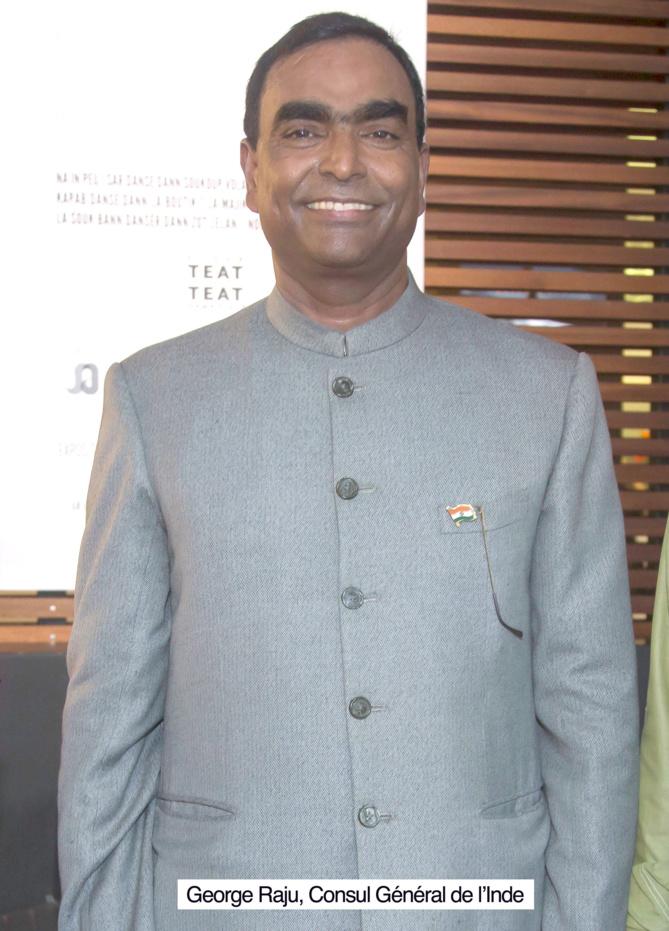 Nouveau Consul de l'Inde
