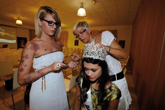Avec les coiffeurs L'Oréal Professionnel