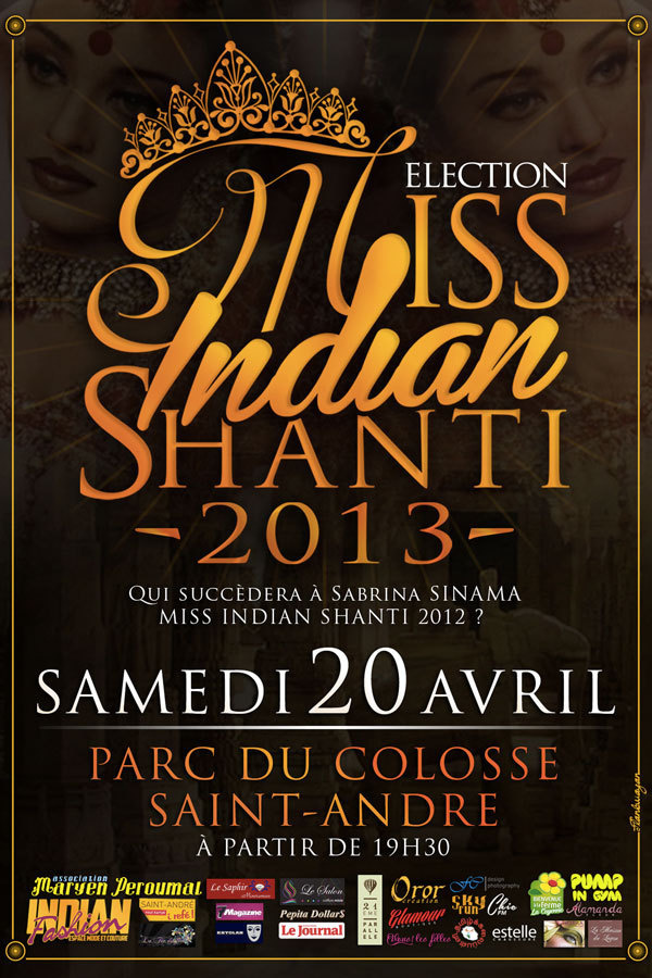 Miss India Shanti le 20 avril au Colosse