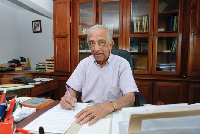 Babou Patel, un homme de cœur :Président honoraire de La Croix-Rouge France Réunion