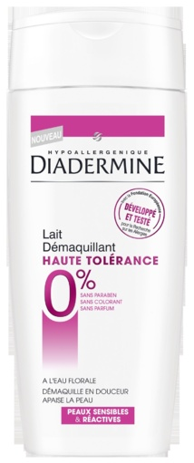 Diadermine Haute Tolérance Ultra respect et protection des peaux sensibles