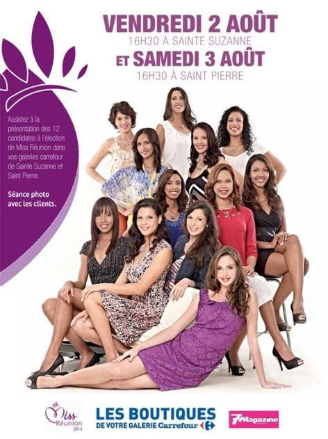 Miss Réunion 2013 : les rendez-vous de ce samedi 3 août à ne pas manquer!