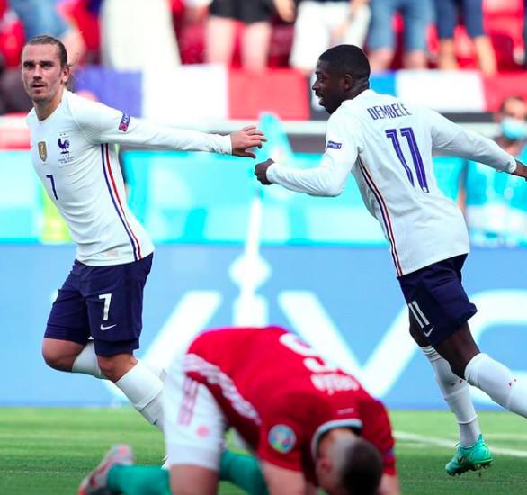 Capture Instagram Equipe de France