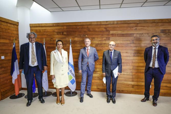 Coopération Régionale : visite de courtoisie de l'Ambassadeur délégué à la coopération Régionale dans l'océan Indien à la COI