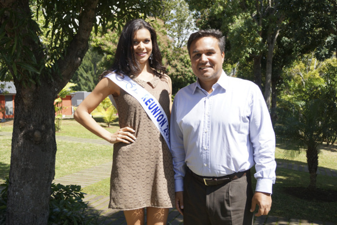 Première sortie officielle de Miss Réunion