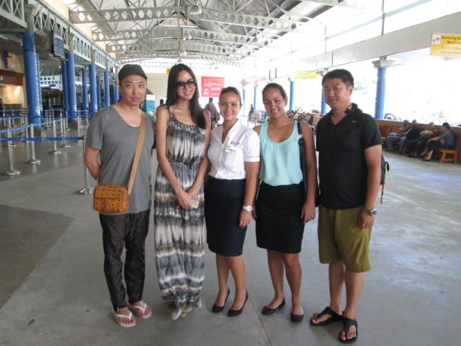 Miss Monde 2007, Zhang Zilin, en voyage de noces aux Seychelles