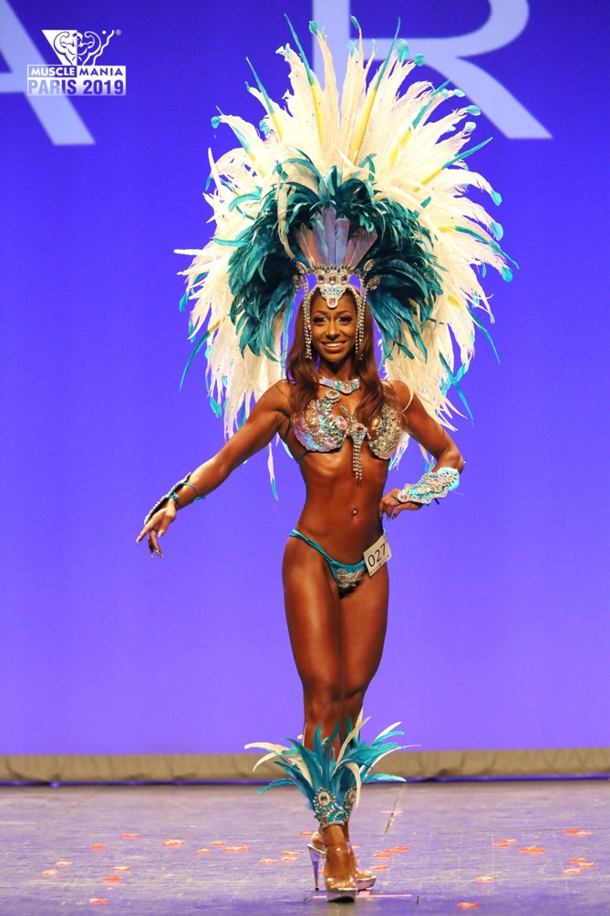 Prisca Sanassy, elle a réussi à prendre du poids grâce au sport !