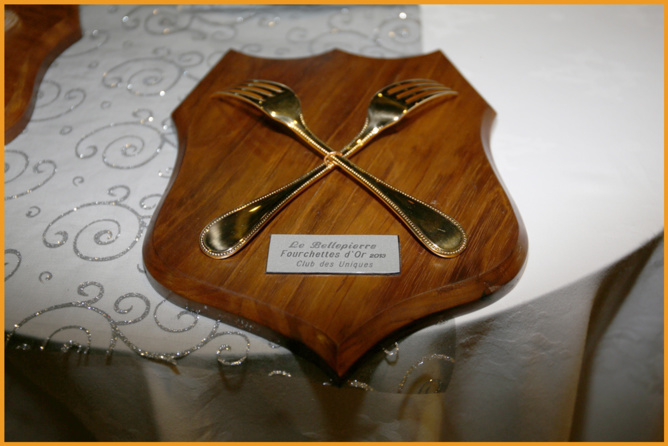 Les Fourchettes d'Or à l'Hôtel Bellepierre