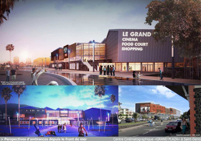 Bientôt Le Grand Plaza à Saint-Denis