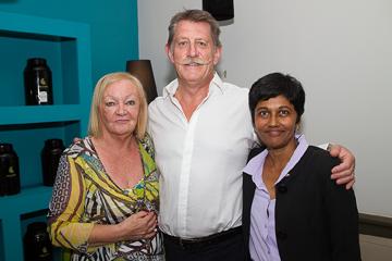 Madame Aude, Yves Hennion, PDG de ADEP, et Erika Bareigts, députée