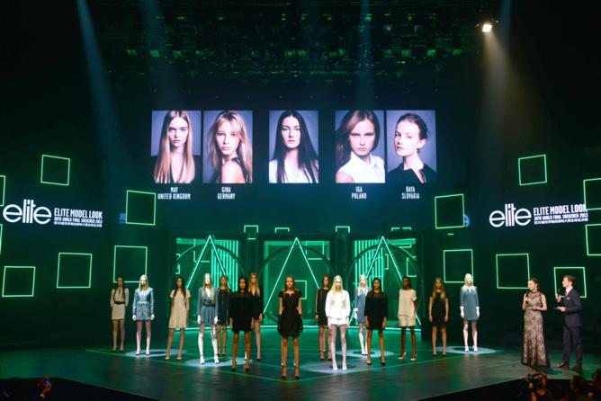 Le show Elite Model Look 2013 : La Finale