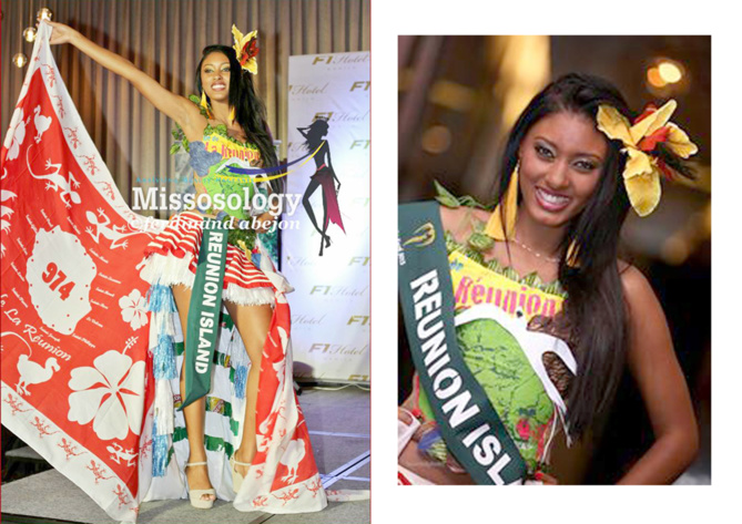 Miss Earth Réunion en costume national