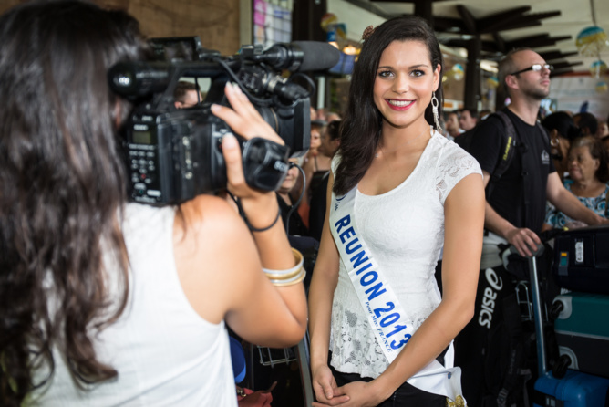 Miss Réunion est de retour dans son île