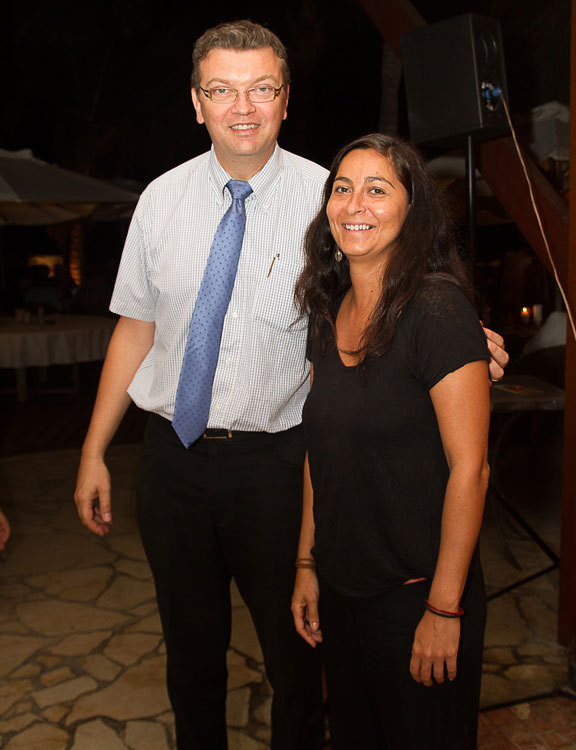 Eric Neant, directeur adjoint,  et Juliette Moussa, attachée de direction