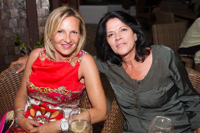 Christina Pierquin et Martine Rubio