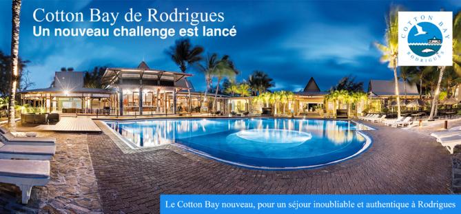 Le Cotton Bay nouveau, pour un séjour inoubliable et authentique à Rodrigues