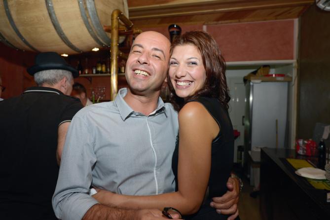 Vincent Carpentier, directeur de Veritas, et Mya Benmimoun